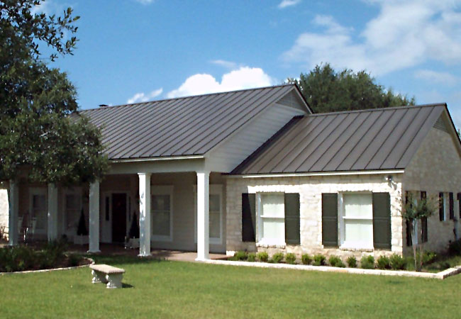 Residential Project Gallery - Central Texas Metal Roofing Supply Co., Inc.